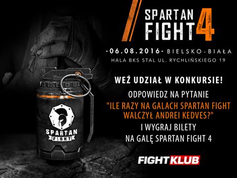 KONKURS! Wygraj bilet na Spartan Fight!